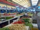 einkaufen auf dem Markt in Yangshuo