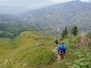 Wanderung durch die unglaubliche Landschaft