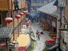 Dorf in den Reisterassen (Ping An)