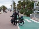 Sehr schön ausgebaute Fahrrad wege an der Küste von Frankreich
