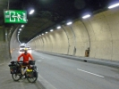 Einer der vielen Tunnel unter Monaco ...
