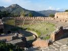 Zweitgroesstes antikes Theater Siziliens