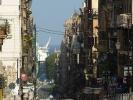 Das Meer und der Hafen sind in Palermo schon von weitem erkennbar