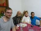 Hier kommt noch das Essen einer typisch-italinieschen Großmutter auf den Tisch - sehr lecker!