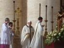 Papst Franziskus bei seiner Amtseinführung