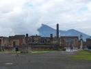 Pompeji, an einem regnerischen Tag sind zumindest nicht ganz soviele andere Touristen  da
