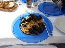 Da muss natürlich auch was aus dem Meer auf den Teller - Spaghetti cozze