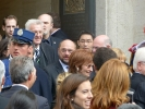 Rösler und Schulz (Präsident des Europäischen Parlaments) sind zusammen nach Rome gekommen, im Schlepptau dabei war...