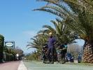 ... in Italien gibt es auch sehr schön ausgebaute Radwege ...
