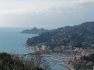 Ligurische Küste in Italien