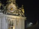 ... so sieht es aus wenn ein neuer Papst gewählt wurde ... weißer Rauch über Rom ...