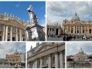 Petersplatz und Petersdom in Rom (Land Nummer 16)