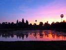 Am zweiten Tag sind wir um 5 Uhr aufgestanden um Angkor Wat bei Sonnenaufgang zu bestaunen