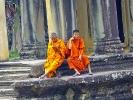 Auch die Mönche leben im 21. Jh. - Handys sind verbreitet