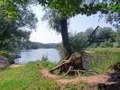 Zeltplatz am Fluss Gauja