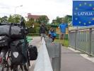 Grenzübergang Litauen/Lettland