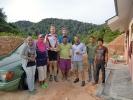 Unsere Gastfamilie auf dem Weg zum Berggipfel - super Erfahrung