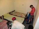 Das Zimmer war doch arg klein, da haben wir dann lieber nach einem anderen Ausschau gehalten