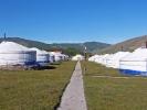 Jurte an Jurte in unserem Camp