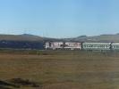 Weiter in der Transmongolischen Eisenbahn Richtung China