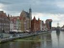 Blick auf Danzigs Altstadt