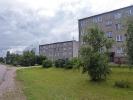 Häuserblocks im Dorf
