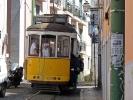 Straßenbahn surfen in Lissabon