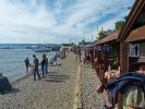 Praktisch - direkt am See Holzhuetten zum gemeinschaftlichen essen