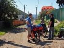 Yohann unser Rasta-Koch aus Paris - im Hintergrund der Baikalsee