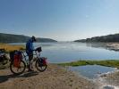 Der Zufluss des Baikalsees laesst die Vorfreude steigen