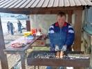 Fleischspiesse sind in Russland auch angesagt