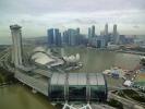 ... Sicht vom Singapur Flyer ...