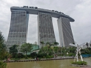 Marina Bay Sands ist ein Resort (Hotel) an der Marina Bay in Singapur.