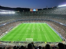 Camp Nou mit 96.000 Fans in Barcelona