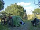 Spanien wilder Zeltplatz