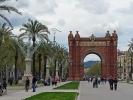 Der Arc de Triomf in Barcelona