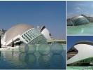 Hemisferic in der Stadt der Künste und Wissenschaften von Valencia, in Valencia