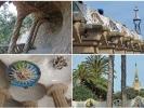 Gaudí war bekannt für seinen eigenwilligen Stil von runden, organisch wirkenden Formen.