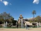 Der Brunnen Font de la Cascada im Park der Zitadelle