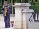Saxophon-Spieler aus Madrid