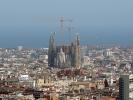 … Sicht vom Park Güell in Barcelona …
