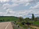 Der Camino de Santiago ist sehr gut besucht ...