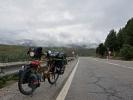 Die ersten Berge hinter mir … geht es in die hoch Ebene nach León …