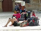Seit über 1000 Jahre wandern Pilger zum Grab des Apostels Jakobus in der spanischen Stadt Santiago de Compostela.
