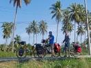 Radfahren bei > 40°C macht Spass ;) da müssen Pausen drin sein