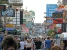 Khao San - Die Touri Straße in Bangkok