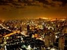 Bangkok bei Nacht vom Bajok Tower