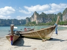Longtailboote am Railay Beach (Krabi) 1