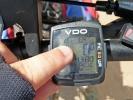 In der Mittagshitze steigt das Thermometer am Rad auf 49 Grad, puuhh