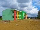 Der Kindergarten in Vinh Long zeigt sich sehr farbenfroh und modern